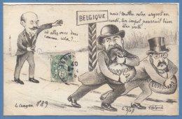 POLITIQUE Satiriques --  A. MOLYNCK --  Le Crayon - N� 89