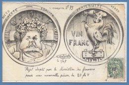 POLITIQUE Satiriques --  A. MOLYNCK --  Le Crayon - N� 75