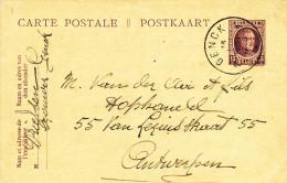 505/23 - BRASSERIE BELGIQUE - Entier Postal GENCK 1923 - Expéditeur Brasseur Driessen - Biere