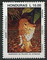 (cl 15 - P4) Honduras ** PA N° 808 (ref. Michel Au Dos) - Jaguar -   T - Honduras
