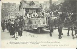 Liége  -- Joyeuse Entrée De Leurs Majestés Le Roi Et La Reine Des Belges, 13 Juillet 1913.    (2 Scans) - Liège
