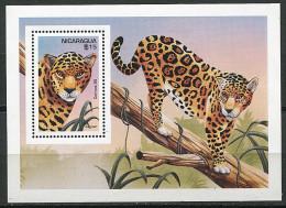 (cl 15 - P6)  Nicaragua  ** Bloc N° 248  (ref. Michel Au Dos) - Jaguar - - Nicaragua