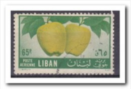 Libanon 1955, Gestempeld USED, Apple, Fruit - Libanon