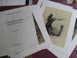 I Promessi Sposi secondo Fattori. A cura di Giorgio Maschera. Lecco, 1974; br., pp. 30, ill. b/n, cm 40,5x50.
