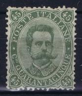 Italia: 1889  Sa 46 , Mi Nr 51 MNH/** - 1878-00 Umberto I