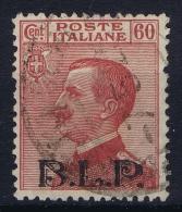 Italia: 1922  Sa  11   , Mi Nr B 131 II , Used  Buste Lettere Postali BLP B.L.P. - 1900-44 Victor Emmanuel III