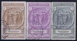 Italia: 1923  Sa 147 - 149  Mi Nr 183 - 185  Used - Afgestempeld