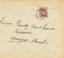 514/23 - BRASSERIE BELGIQUE - Lettre TP Albert SELZAETE 1919 - Expéd. Brasseur Janssens - Van Peene - Bières