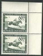 Austria Preis - Pferderennen - 1945-60 Unused Stamps