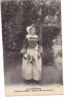 BOURG De BATZ. - Costume De Mariée.  Cliché RARE - Batz-sur-Mer (Bourg De B.)