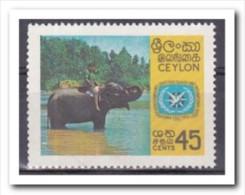 Ceylon 1967, Postfris MNH, Tourism, Elephant - Sri Lanka (Ceylon) (1948-...)