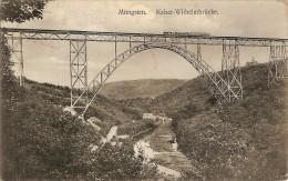 MUNGSTEN-SOLINGEN-KAISER WILHELMBRUCKE -train - Solingen