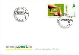 LUXEMBOURG. N°1663 De 2006 Sur Enveloppe 1er Jour. Chien. - Hunde
