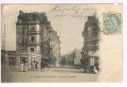 CPA (59) MALO-LES-BAINS - Rue De Flandre ,Animée . (V02) - Malo Les Bains
