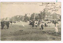 CPA (59) MALO-LES-BAINS - Une Partie De Croqet  Sur La Plage , Animé . (V06) - Malo Les Bains