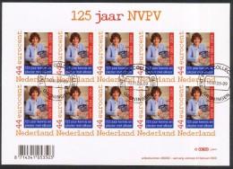 Netherlands Sheet 2009 125 Dutch Philatelic Association Michel 2648 - Blocks & Sheetlets