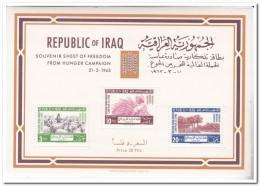 Irak 1963, Postfris MNH, Food ( Slightly Yellowish ) - Irak