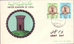 1961 Libya Army Day F.D.C       (Or Best Offer) - Libya