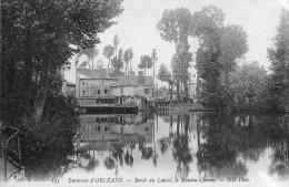 CPA- Environs D'ORLEANS (45) - Vue Du Moulin Chéron Au Bord Du Loiret - Orleans