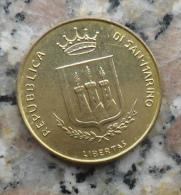 MONETA DA 200 LIRE DI SAN MARINO DEL 1983 - - San Marino