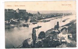 D5156    PIRNA : Blick Von Posta - Pirna