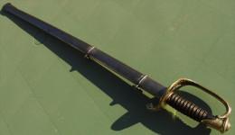 SABRE D´ADJUDANT MODELE 1854 - Armes Blanches