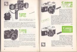 Catalogue Général Photo Ciné Optique... Cinephoto, Rue Du Midi Bruxelles (années 1970x - 194 Pages, Photos) - Photography