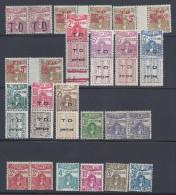 TUNISIE -  1941 -  TIMBRES-TAXE - N° 52 à 65 -  NEUFS - XX - X - TB - - Tunisia (1888-1955)
