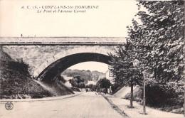 78 CONFLANS SAINTE HONORINE LE PONT ET L AVENUE CARNOT - Conflans Saint Honorine