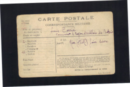 Carte En Franchise Militaire 1915 - Postmark Collection (Covers)