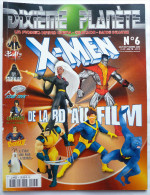 DIXIEME PLANETE N° 6 X-MEN SUPERMAN GHOST STAR TREK STAR WARS BUFFY ... - Non Classés