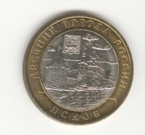 10 Roubles / Rubles Russie / Russia Bi-métallique / Bimetalic 2003 Pskov - Russia