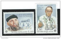 Finland   ...  Yvert   ...  831/832    ....  **   ...  Postfris    ....  MNH   ...   Postfrisch ...  Neuf ** - Nuovi