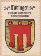 Werbemarke (Reklamemarke, Siegelmarke) Kaffee Hag : Wappen Von Tübingen - Tea & Coffee Manufacturers