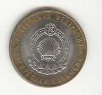 10 Roubles / Rubles Russie / Russia Bi-métallique / Bimetalic 2009 Kalmykia - Russia