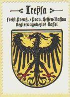 Werbemarke (Reklamemarke, Siegelmarke) Kaffee Hag : Wappen Von Treysa - Tea & Coffee Manufacturers