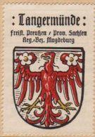 Werbemarke (Reklamemarke, Siegelmarke) Kaffee Hag : Wappen Von Tangermünde - Tea & Coffee Manufacturers
