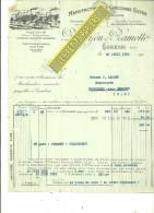 59 - Nord - CAMBRAI - Facture DUROYON & RAMETTE - Manufacture De Chicorée – 1932 - REF 183 - France