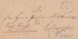 Brief Gelaufen Von Meinersen 6.8. Gel. Nach Edemissen - Hannover