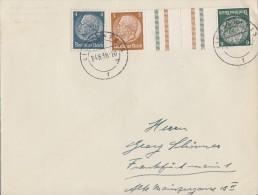 DR Brief Mif Minr.514,Zdr. Minr.kz 27 Lichtenfels 24.8.38 - Briefe U. Dokumente