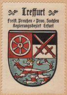Werbemarke (Reklamemarke, Siegelmarke) Kaffee Hag : Wappen Von Treffurt - Tea & Coffee Manufacturers