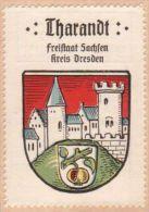 Werbemarke (Reklamemarke, Siegelmarke) Kaffee Hag : Wappen Von Tharandt - Tea & Coffee Manufacturers