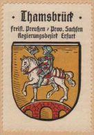 Werbemarke (Reklamemarke, Siegelmarke) Kaffee Hag : Wappen Von Thamsbrück - Tea & Coffee Manufacturers
