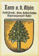 Werbemarke (Reklamemarke, Siegelmarke) Kaffee Hag : Wappen Von Tann An Der Rhön - Tea & Coffee Manufacturers