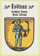 Werbemarke (Reklamemarke, Siegelmarke) Kaffee Hag : Wappen Von Todtnau - Tea & Coffee Manufacturers