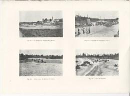 Quarto D'Altino + Noventa Di Piave + Gonars + Ronchis Udine  - Tavola Fotografica  Del 1919 - Riproduzioni