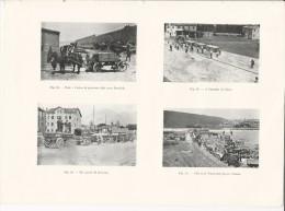 Cava Pietrisco A POLA Pula Istria + Fossalta Di Piave + Belluno + Cava A Trieste  - Tavola Fotografica  Del 1919 - Riproduzioni