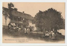 74 Dép.- Hôtel-Restaurant Des Treize Arbres, Grand Salève (Haute-Savoie). A.Hercourt, Propr. Carte Non Voyagé, Dos Non S - Frankrijk