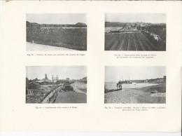 Vedute Di PIRANO Piran Istria + ODERZO + GEGGIA + MEOLO - Tavola Fotografica Del 1919 - Riproduzioni