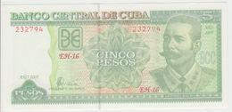 Cuba 5 Pesos 2006 Pick 116 UNC - Cuba